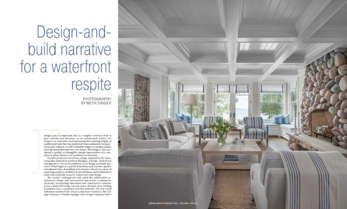Great Lakes By Design Featured This Waterfront Home We Designed In Their  Volume 2 Issue 2 U201cCelebrate The Rideu201d Magazine.